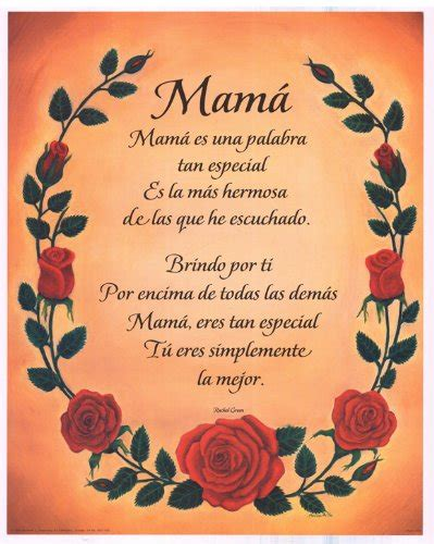 spanish mothers day poems poems for mom in spanish and english google search mom