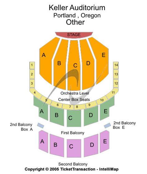 keller auditorium seating view tickets keller auditorium