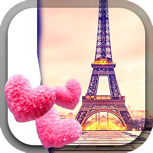wallpaper bergerak menara eiffel cute paris live wallpaper android apps on google play