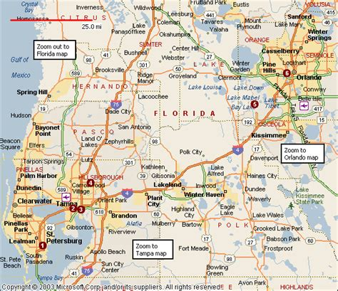 printable orlando area map looking to franchise in orlando and ta area