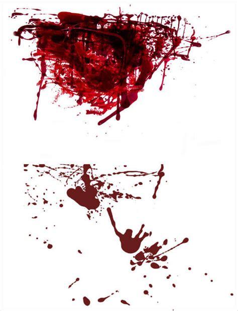 blood splatter brush 60 photoshop brushes design trends premium psd
