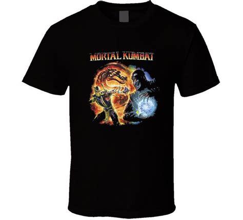 T Shirt Mortal Kombat Anime scorpion vs sub zero mortal kombat t shirt t shirt tshirt new t shirts