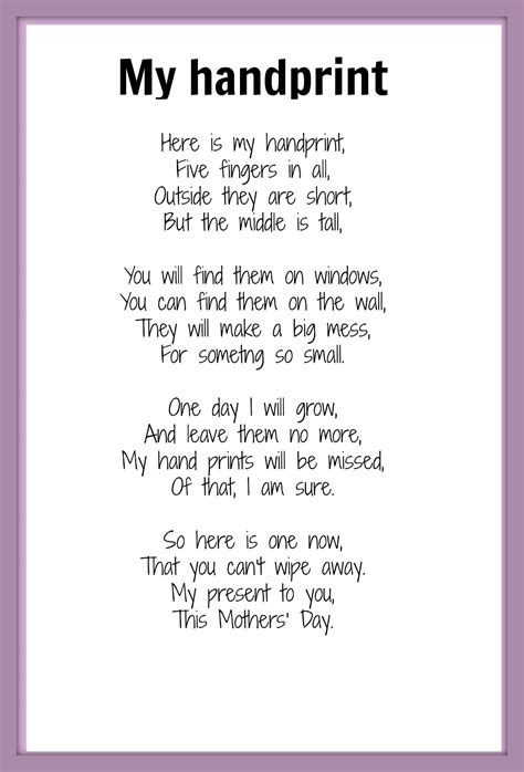 day peom best mothers day poems
