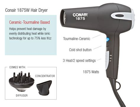 Conair Volume Hair Dryer give me more volume the best hair dryer for hair