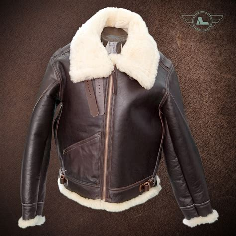 b 3 bomber jacket alexander b 3 sheepskin bomber jacket