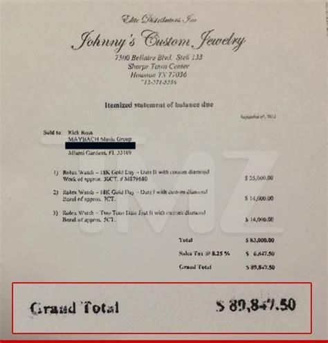 Rick Ross Maybe Kinda Sorta Forgot to Pay His Rolex Bill