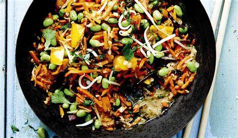 cuisiner au wok 駘ectrique wok de l 233 gumes surgel 233 s les l 233 gumes picard