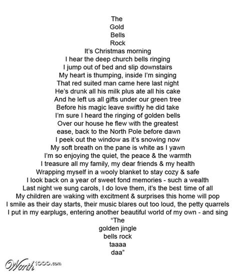 christmas shape poems new calendar template site