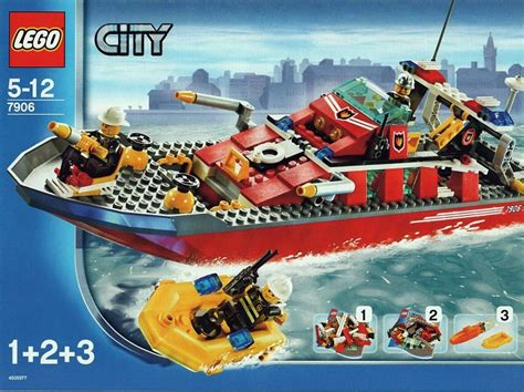 fireboat book video 7906 1 fireboat brickset lego set guide and database