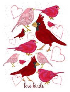 Daily free printable love birds art print by irocksowhat mrs