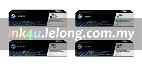 Hp Oneplus One Malaysia hp ce310 1 2 3a 126a one set toner end 1 10 2019 3 00 am