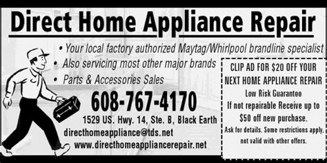 direct home appliance repair serving cross