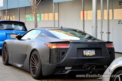 lexus lfa spotted in beverly california on 01 17 2016