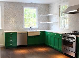 testing new green paint colors for my kitchen cabinets