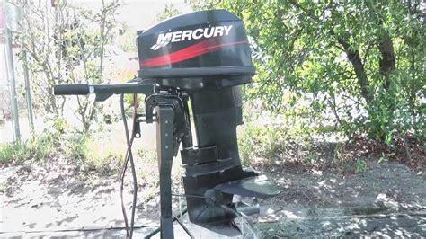 2000 mercury outboard motor value 2003 mercury 25hp outboard motor youtube