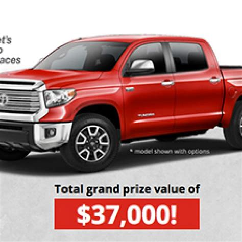 Toyota Tundra Giveaway - win a toyota tundra truck granny s giveaways