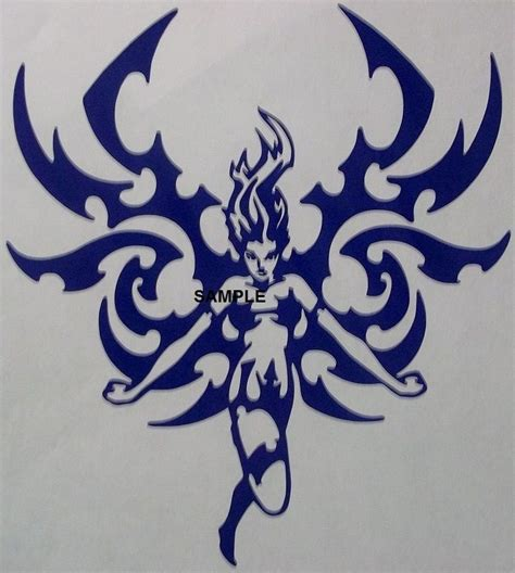 cross with eagle wings tattoo blue tribal cross stitch chart now at www