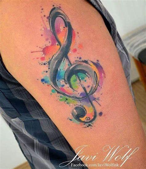 die besten 17 ideen zu tattoo notenschl 252 ssel auf pinterest