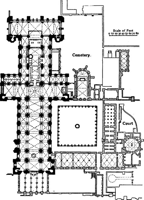 cathedral of learning floor plan file eb 1911 plan of durham cathedral png wikimedia commons