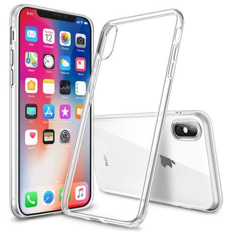g iphone x flexi slim clear for apple iphone xs transparent