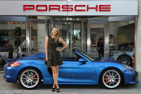 Porsche Open Tennis by Porsche Brand Ambassador Sharapova Fails Tennis