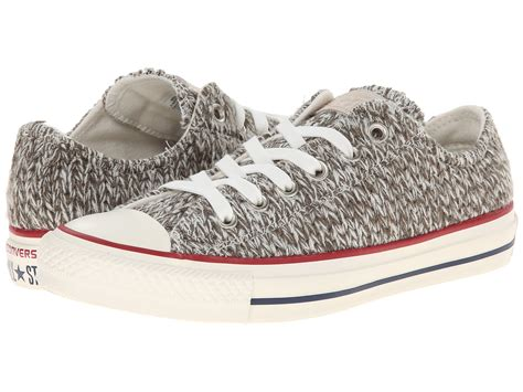converse knit converse chuck all winter knit ox charcoal