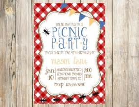 25 best ideas about picnic invitations on picnic theme birthday picnic birthday
