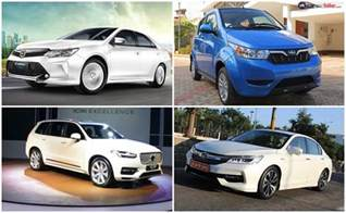 Status Of Electric Vehicles In India Top 5 Hybrid Electric Cars In India Ndtv Carandbike