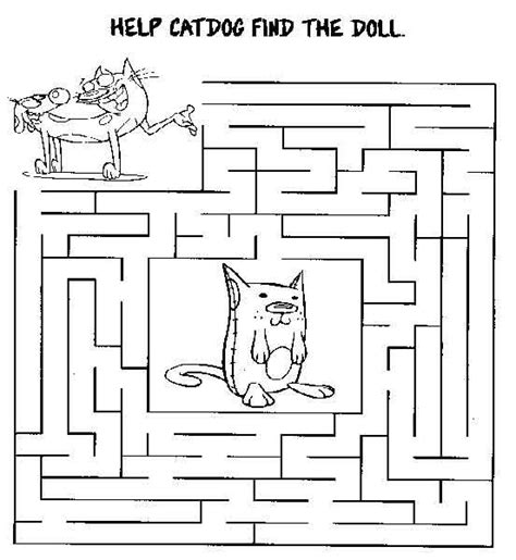 printable cat maze 86 best mazes images on pinterest labyrinths activities