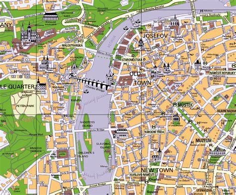 prague map visiter prague en 3 jours incontournables 224 prague