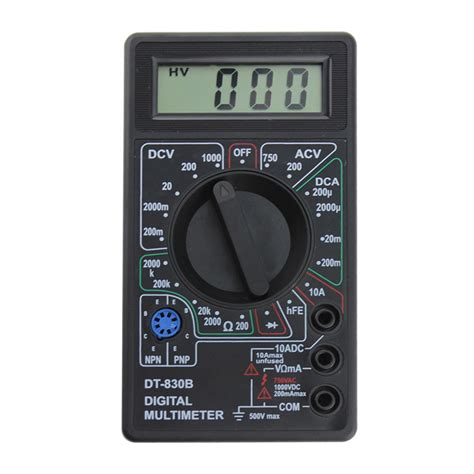Digital Multimeter Dt 830b Limited dt 830b lcd digital multimeter electric voltmeter ammeter ohm tester ac dc 750 1000v volt