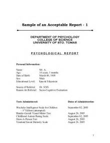 psychiatrist report template sle psych reports format