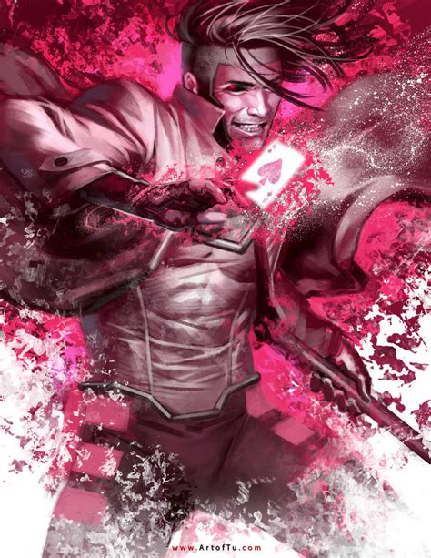 X Gambit gambit by artoftu on deviantart