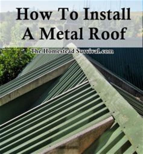 1000 ideas about metal roof installation on