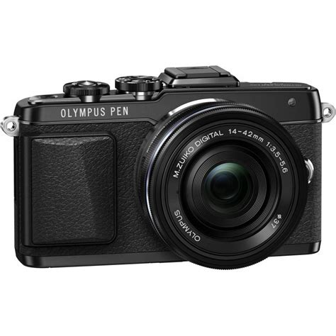 Olympus Pen Lite E Pl7 Black 14 42mm Ez Olympus Fisheye 9mm F8 0 olympus pen lite e pl7 14 42mm ez kit black