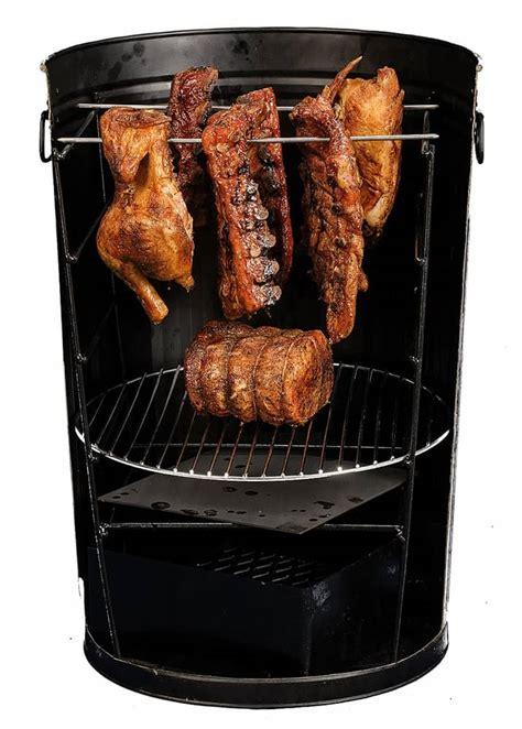 po man trashcan charcoal grill noveltystreet