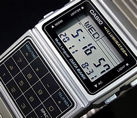 Casio Calculator Dbc611 casio dbc 611 1d illuminator silver databank telememo