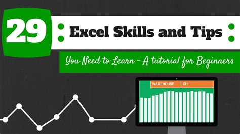 29 excel skills and tips you need to learn a tutorial