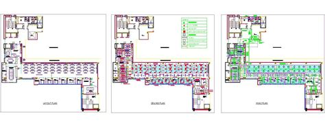 Office Interior Design Layout Plan by Office Interior Furniture Ceiling And Hvac Layout Plan