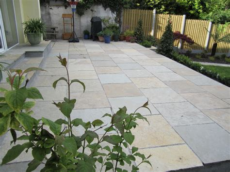 Limestone Patio by Patios And Paving Dublin Wicklow Landscaping Ie
