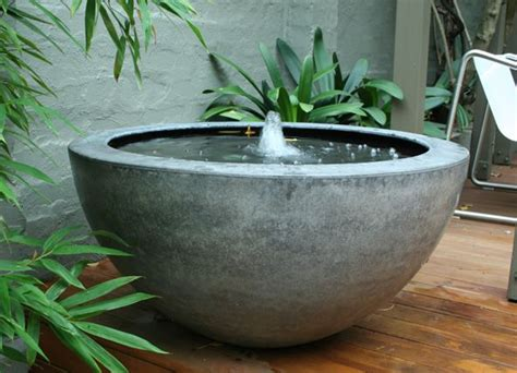 Backyard Bowls Delivery 17 Best Ideas About Modern Water Feature On