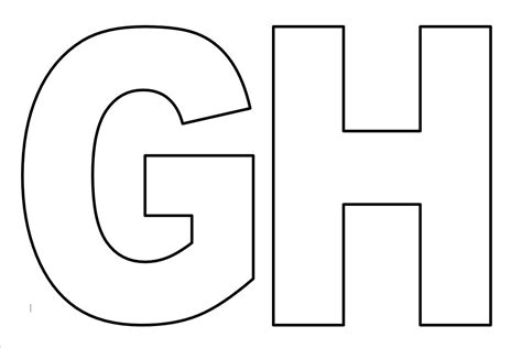 moldes de letras grandes para imprimir letras del abecedario para imprimir grandes tattoo