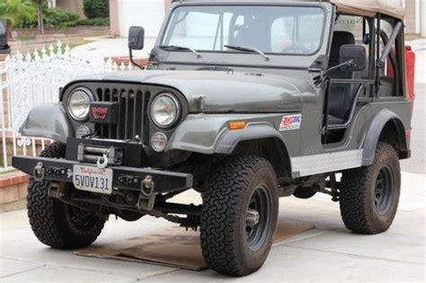 dark green jeep cj purchase used 1977 cj jeep dark green tan canvas top