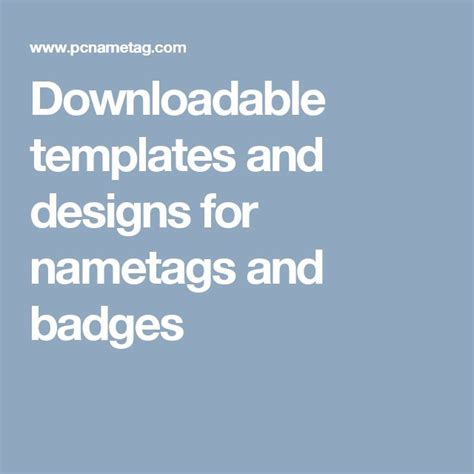 27 Best Free Name Tag Designs Images On Pinterest Name Badges Name Tags And Tag Design Indesign Name Tag Template