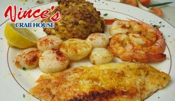 vinces crab house dealhere com 10 for 20 worth of food drinks at vince