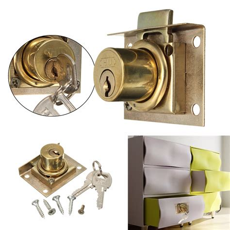cabinet and drawer locks drawer lock kit with 2 cabinet cupboard door home