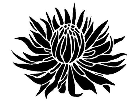 easy pattern stencil designs flower stencil clipart best
