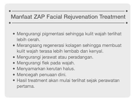 Krim Wajah Zap zap rejuvenation jari kecil