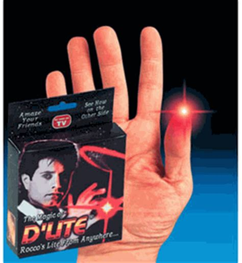 d lite finger lights d lite size tip light magic finger trick