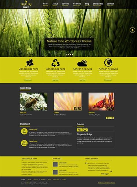 Theme Blog Wordpress Nature | free nature wordpress theme for nature loving websites
